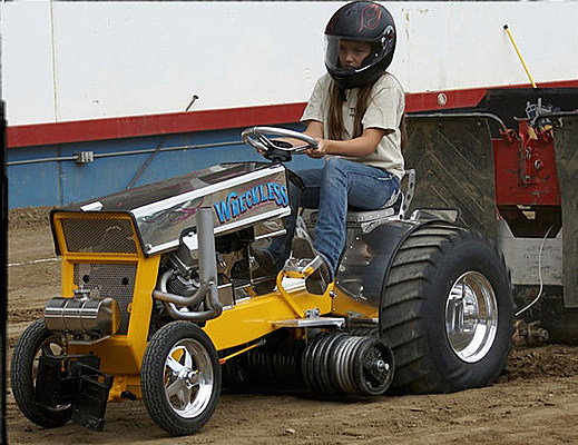 Garden Tractor Pullers : Garden tractor pull comes to cheyenne