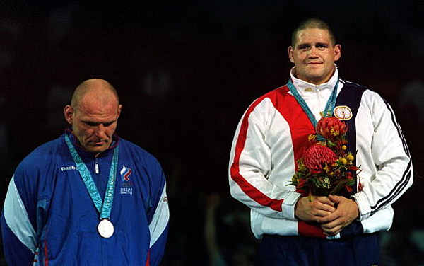 a review of the olympic super heavyweight wrestling match between rulon gardner and alexander kareli Ap photos: memorable winning streaks in sports wrestling's 'russian bear' alexander karelin was as his loss to american wrestler rulon gardner for.