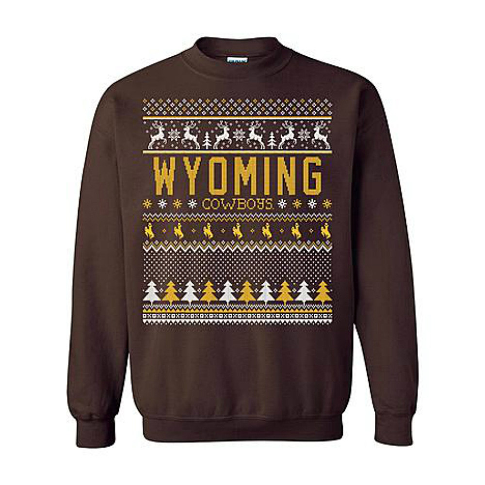 Five Awesomely Ugly Wyoming Christmas Sweaters