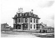 The Warren-Nagel Mansion was the first home in Wyoming with electricity. Wyoming State Archives.