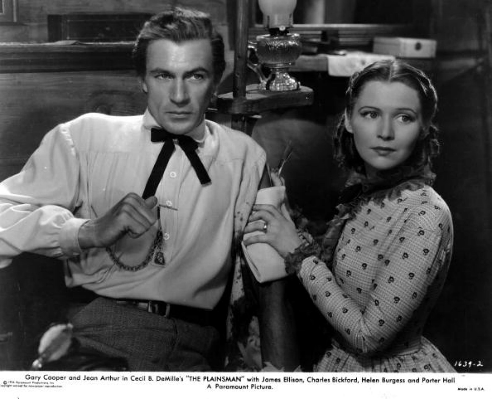 Gary Cooper and Helen Burgess star in 'The Plainsman', the story of Wild Bill Hickok and his friends. Hulton Archive, Getty Images