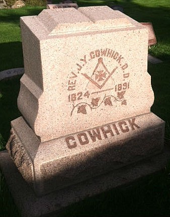 Reverend John Young Cowhick is one of many family members laid to rest at Lakeview Cemetery in Cheyenne. Rick Roddam, Townsquare Media