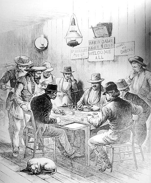 Gambling Saloon