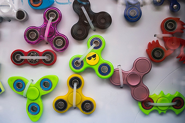Latest Toy Craze Fidget Spinners, Wildly Popular With Kids