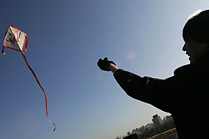 Kite Flying in South Korea